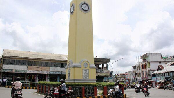 Город Порт-Блэр, Андаманские острова. Архивное фото