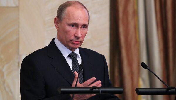 В.Путин на расширенном заседании коллегии ФСБ