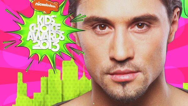 Номинант на премию Kids' CholceAwards 2013 Дима Билан