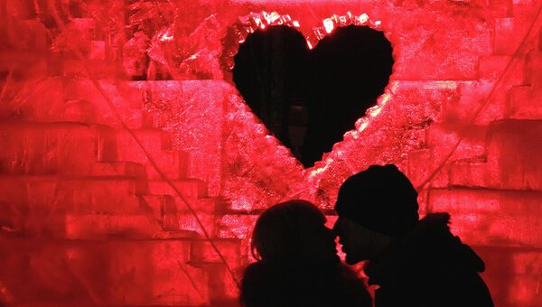 Празднование Дня святого Валентина, архивное фото