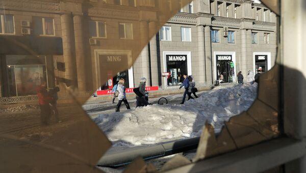 Последствия падения метеорита в Челябинской области