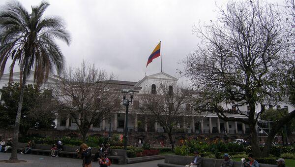 Президентский дворец в столице Эквадора Кито. Архивное фото