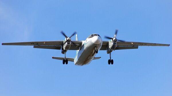 В Якутии колеса шасси самолета Ан-24 разрушились после посадки