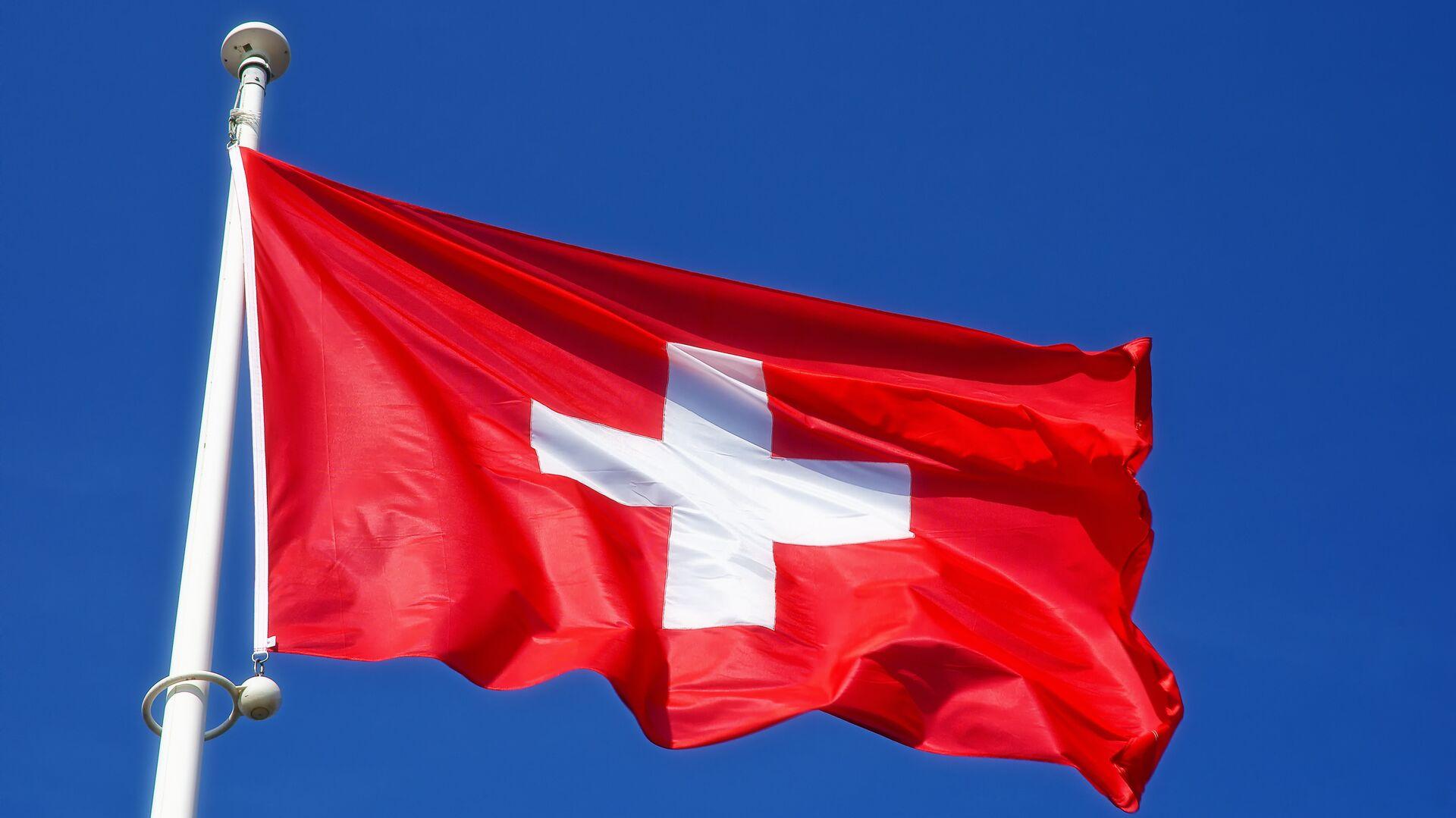 Флаг Швейцарии - РИА Новости, 1920, 27.07.2021