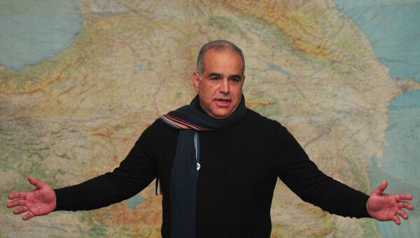 Кандидат в президенты Армении Раффи Ованнисян. Архив