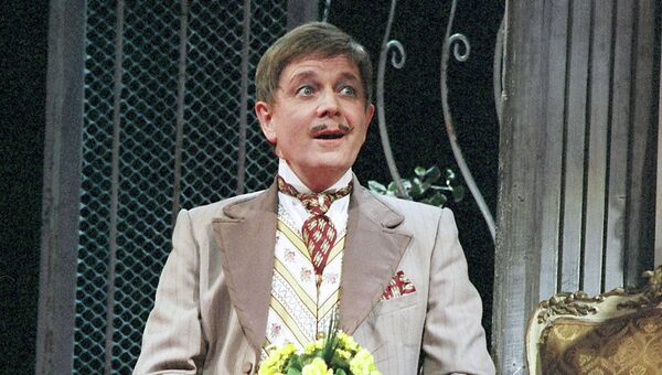 Актер Малого театра Валерий Бабятинский. Телятев (Бешеные деньги)
