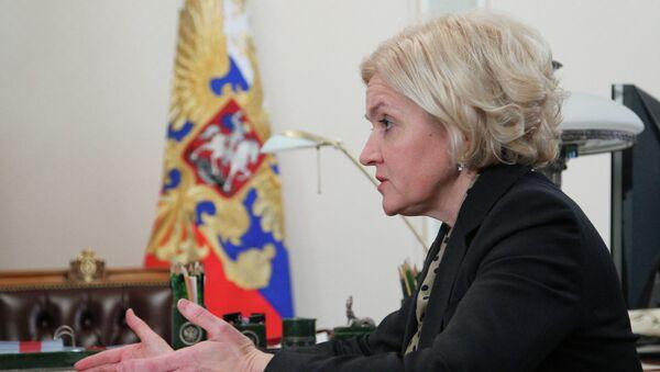Заместитель председателя правительства РФ Ольга Голодец, архивное фото