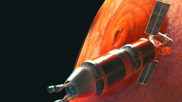 Проект пилотируемого корабля для полета на Марс. Архив