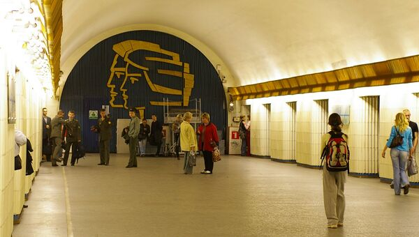 Станция Петроградская Петербургского метрополитена