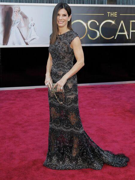 Сандра Буллок на 85-й церемонии вручения премии Оскар