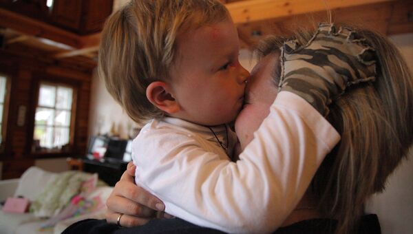 Ребенок с синдромом бабочки