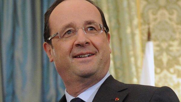 Президент Франции Франсуа Олланд. Архивное фото.