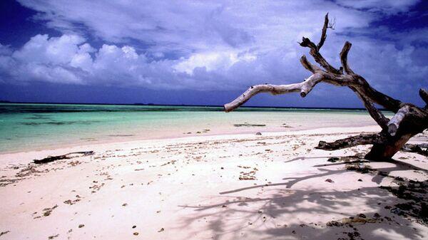 Один из пляжей на Маршалловых островах