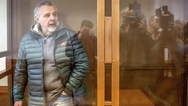 Бывший первый заместитель прокурора Подмосковья Александр Игнатенко. Архивное фото