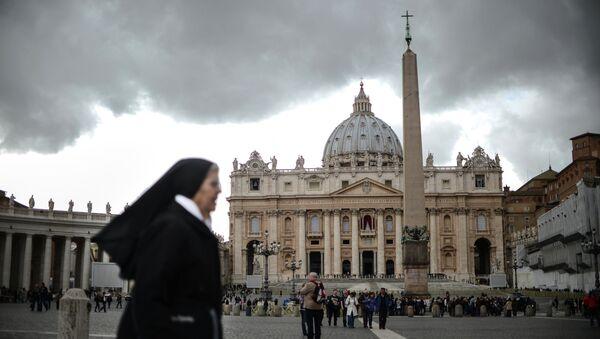 Ватикан в ожидании избрания нового Папы Римского. Архив