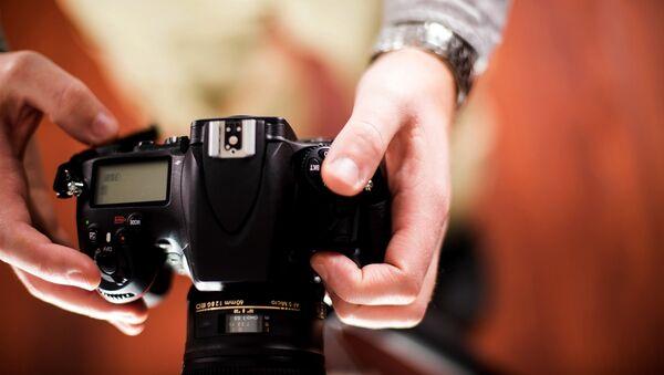 Фотоаппарат. Архивное фото