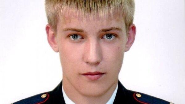 Мл. сержант Виктор Кабак, погибший при исполнении служебных обязанностей