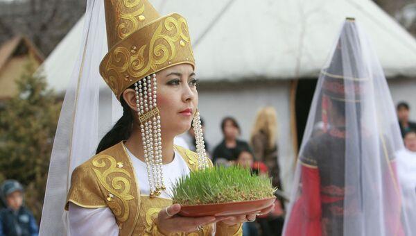 Празднование Навруза в Бишкеке