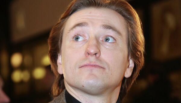 Актер Сергей Безруков, архивное фото