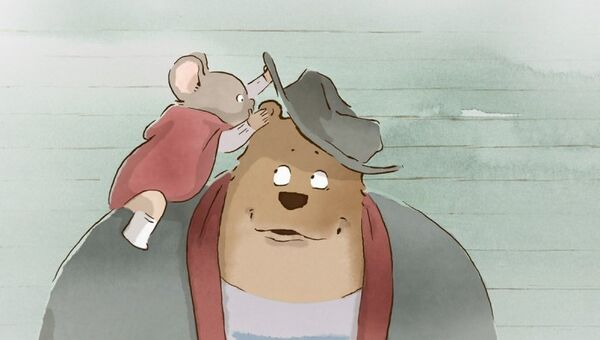 Кадр из мультфильма Эрнест и Селестина: Приключения мышки и медведя
