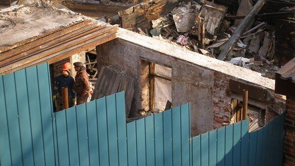 Снос дома Элеоноры Прей во Владивостоке, архивное фото