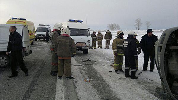 ДТП на трассе Новокузнецк – Ленинск-Кузнецкий