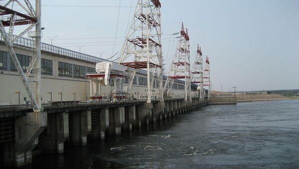 Чебоксарская ГЭС, архивное фото