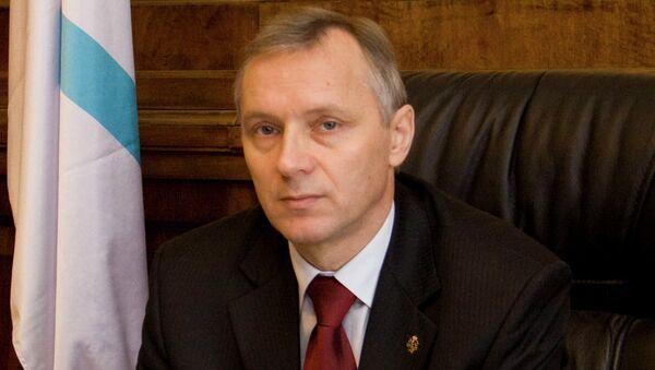 Директор Центрального военно-морского музея А.Я.Лялин