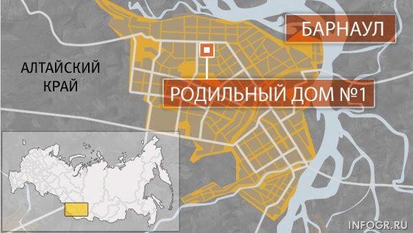 Родильный дом №1,  Барнаул