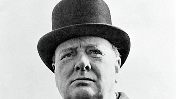 61-й премьер-министр Великобритании Уинстон Черчилль. Архивное фото