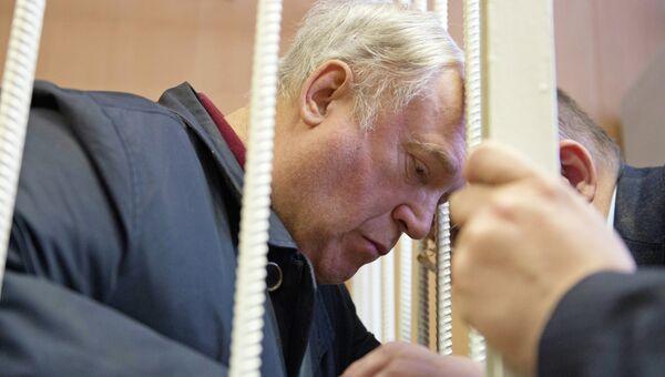 Бывший генеральный директор Ижмаша Владимир Гродецкий, обвиняемый в мошенничестве, в Тверском суде Москвы