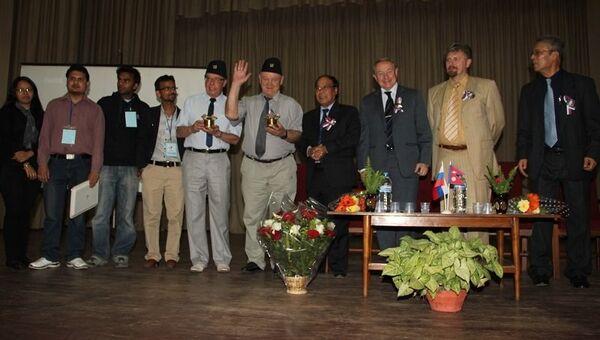 Космонавт Джанибеков познакомил Непал с российской космонавтикой