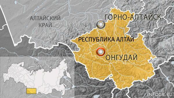 Село Онгудай, Горный Алтай
