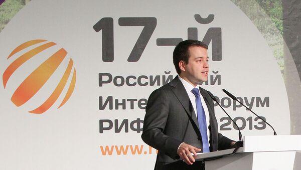 Министр связи и массовых коммуникаций РФ Николай Никифоров на интернет-конференции РИФ+КИБ 2013