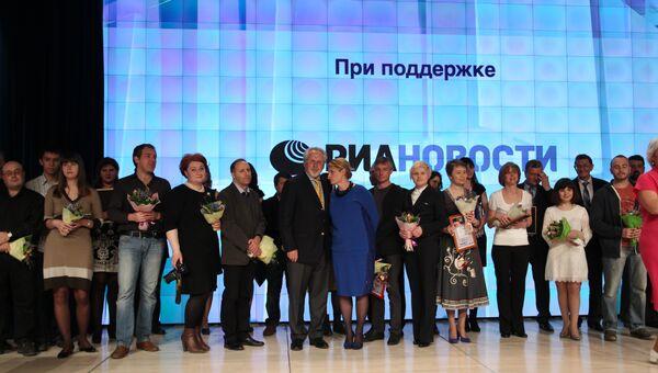 Церемония вручения премии Искра - 2013