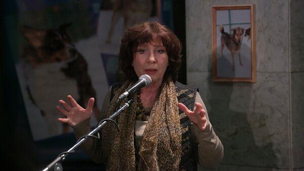 Елена Камбурова. Архивное фото
