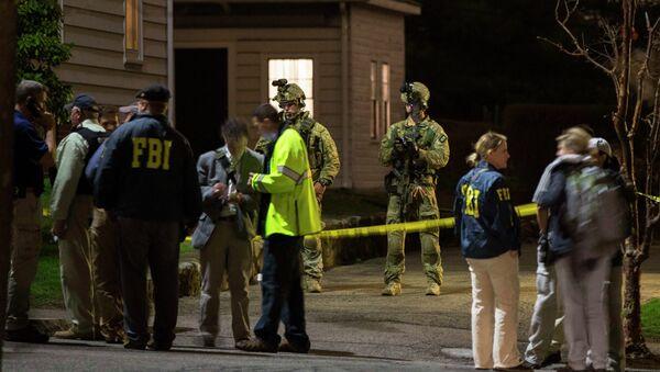 У дома, где скрывался подозреваемый во взрывах в Бостоне Джохар Царнаев