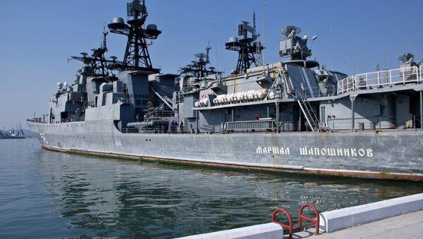 Встреча кораблей ТОФ во Владивостоке после антипиратской операции