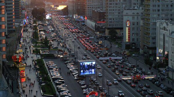 Улица Новый Арбат. Архивное фото