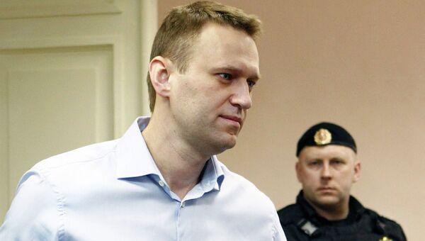 Алексей Навальный в районном суде Кирова. Архив