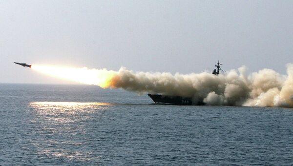Учения Тихоокеанского флота. Архив