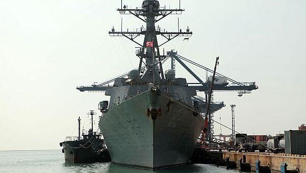 Эсминец ВМФ США Лассен. Архивное фото