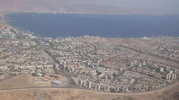 Город Эйлат, архивное фото