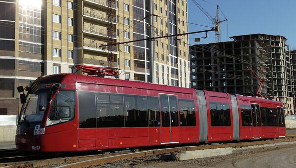Скоростной трамвай для Универсиады 2013