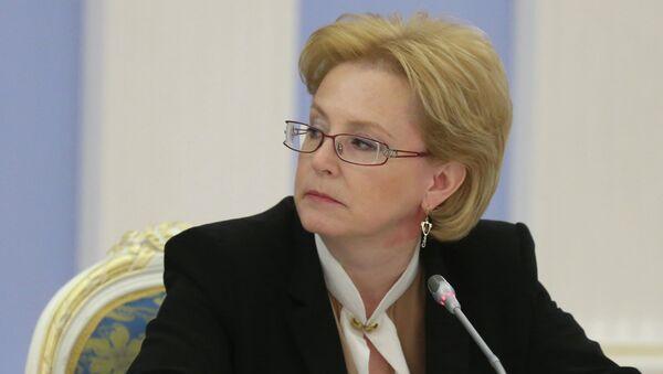 Министр здравоохранения РФ Вероника Скворцова, архивное фото