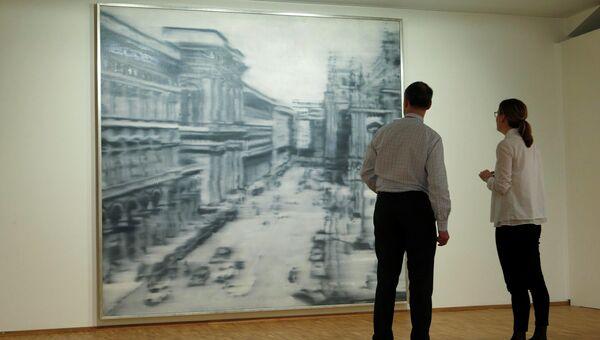 Работа Герхарда Рихтера Соборная площадь, Милан