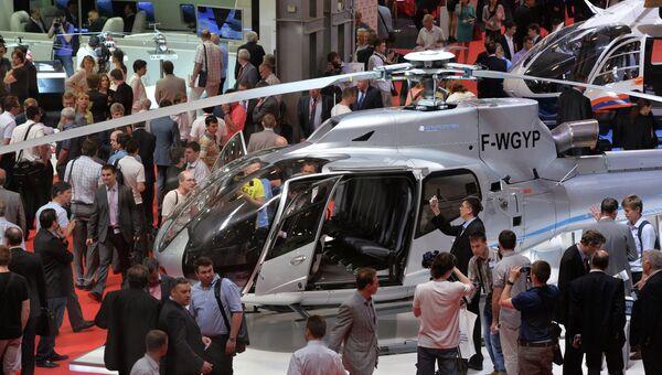 Выставка вертолетной индустрии HeliRussia. Архивное фото