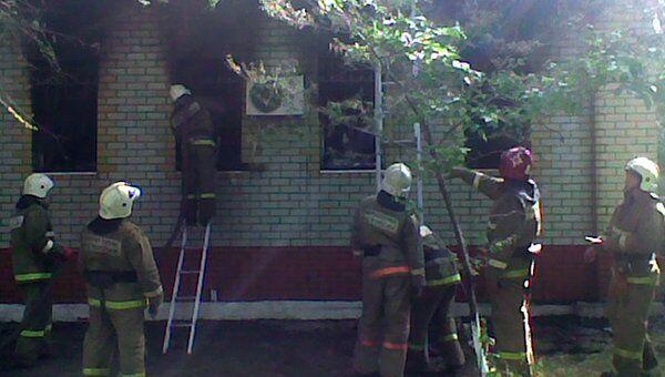 МЧС России по Саратовской области о пострадавших во время пожара