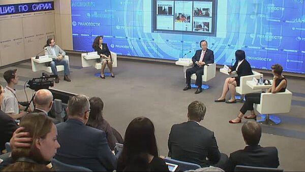 Ток-шоу Социальная ответственность СМИ с участием генсека ООН Пан Ги Муна