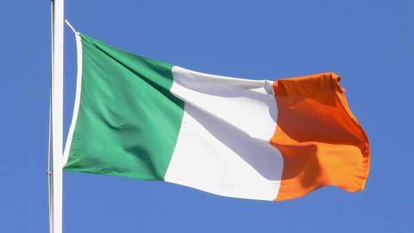 Флаг Ирландии, архивное фото